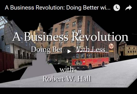 A Business Revolution: Doing Better with Less