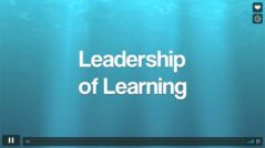 "Leadership of Learning by Robert W. ""Doc"" Hall"